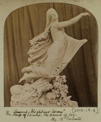 Photograph: The Sleep of Sorrow the Dream of Joy, Sculpture; 1862; 2016.17.3