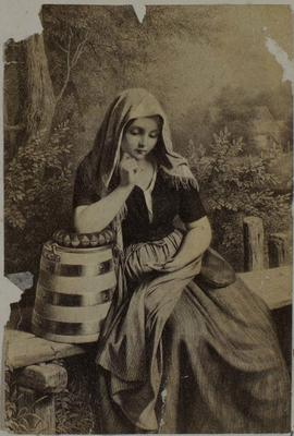 Photograph: A Seated Maid, Illustration