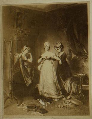 Photograph: Three Women Dressing, Illustration