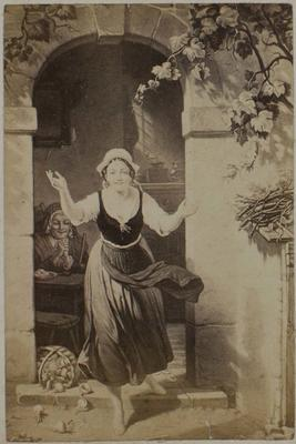 Photograph: A Woman's Welcome, Illustration