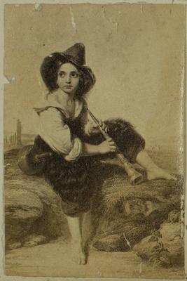 Photograph: The Shepherd Boy, Illustration