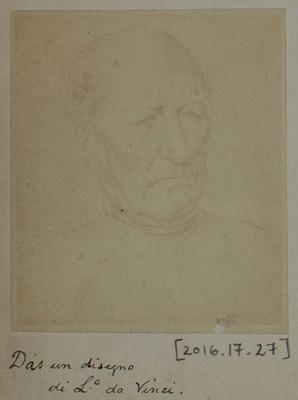 Photograph: Elder by Leonardo Da Vinci, Sketch