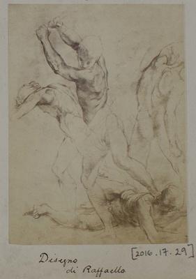 Photograph: Four Figures by Raffaello, Sketch