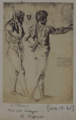 Photograph: Two Figures by Raffaello, Sketch