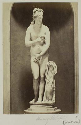 Photograph: Venus of the Capitol, Front View of Sculpture