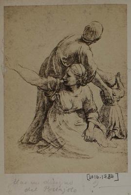 Photograph: Three Figures, Sketch