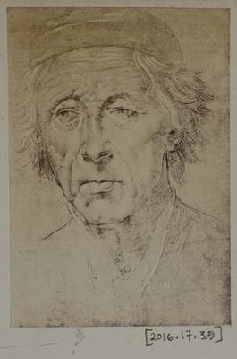 Photograph: Burdened Man, Sketch