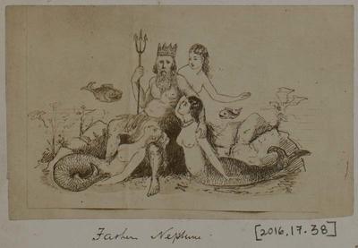 Photograph: Father Neptune by Reginald Fairlie, Illustration