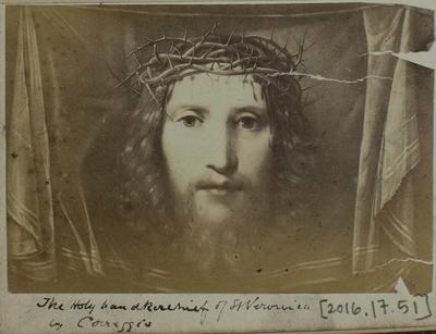 Photograph: Jesus Christ Front Face, Illustration