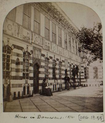 Photographic Print: Damascus House, 1874