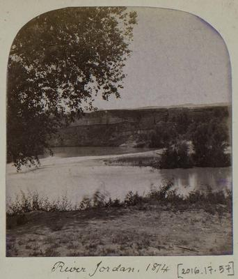 Photographic Print: River Jordan, 1874