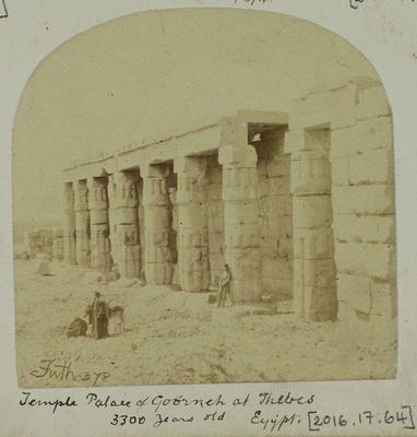 Photograph: Temple Palace in Egypt, 1874