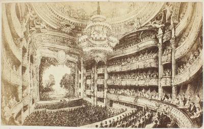Photograph: Theatre One, Nouvel Opera Paris, Illustration