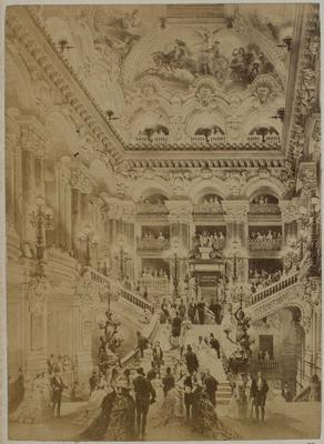 Photograph: Elaborate Entry Foyer, Nouvel Opera Paris, Illustration