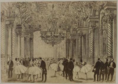 Photograph: Elaborate Ballroom, Nouvel Opera Paris, Illustration