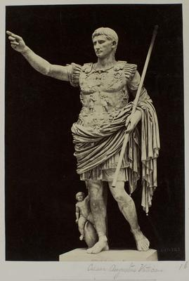 Photograph: Male Sculpture at the Vatican