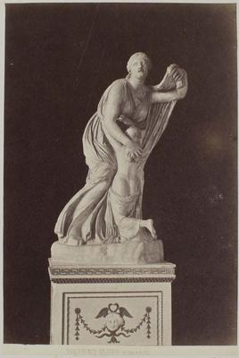 Photograph: Female Clutching the Young, Sculpture