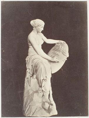 Photograph: Female Decorating Shield