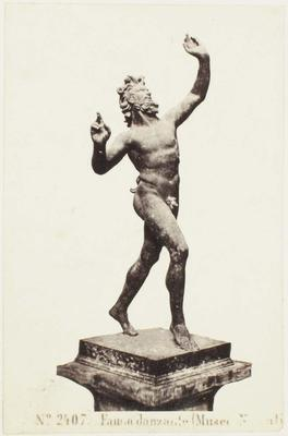 Photograph: Naked Male with Hands Raised