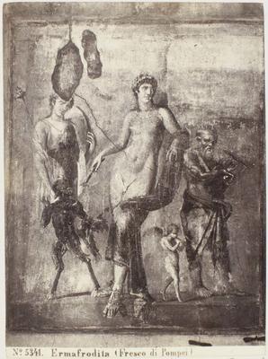 Photograph: Ermafrodita, Pompeii