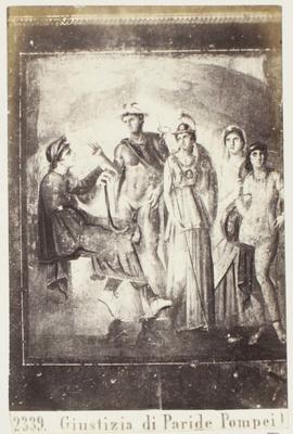 Photograph: Giustizia di Paride, Pompeii