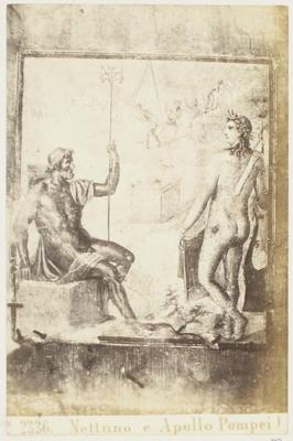 Photograph: Nettuno e Apollo, Pompeii