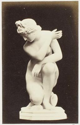 Photograph: Kneeling Naked Female