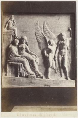 Photograph: Angel with Figures in Undress