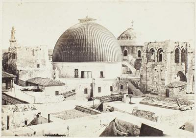 Photograph: Church of the Holy Sepulchre in Jerusalem
