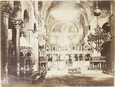 Photograph: St Mark's Interior, Venice