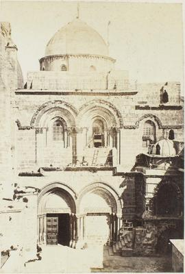 Photograph: Church of the Holy Sepulchre, Jerusalem