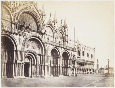 Photograph: Exterior of St Marks, Venice
