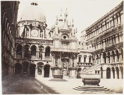 Photograph: Inner Courtyard of St Marks, Venice