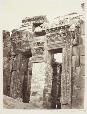 Photograph: Temple Fort Pillar Entrance