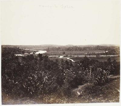 Photograph: Waterway, Ceylon