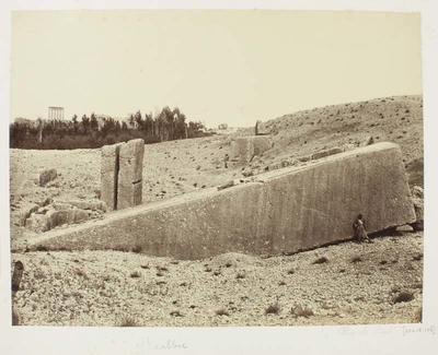 Photograph: Extensive Rectangular Pillars, Baalbec