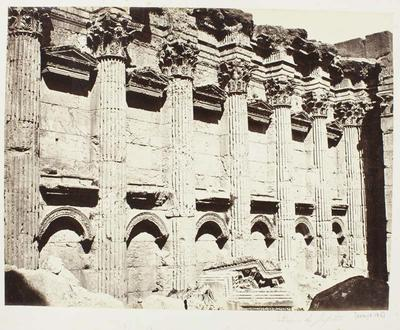 Photograph: Decorative Stone Masonry, Baalbec
