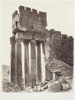 Photograph: Ruin Pillars and Wall