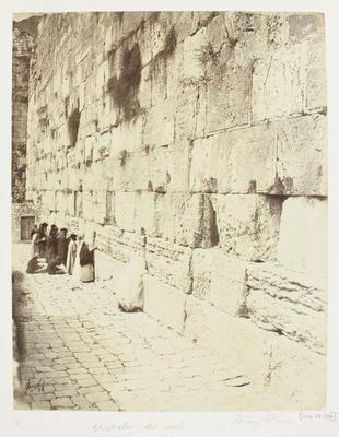 Photograph: Old Wall, Jerusalem