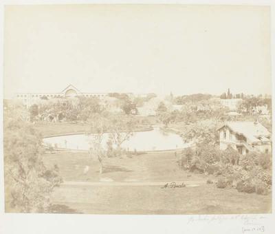 Photograph: Circular Pool, Cairo