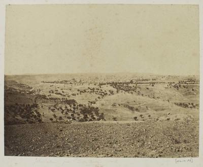 Photograph: Jerusalem from Damascus Road