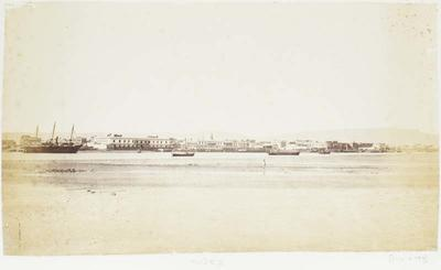 Photograph: Waterside Settlement, Suez