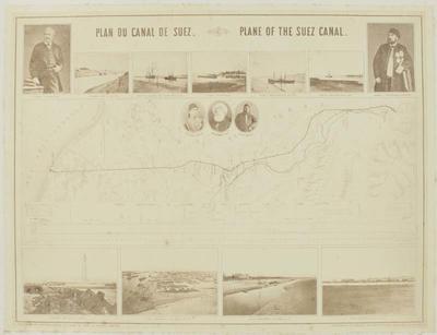 Photograph: Plan of Suez Canal
