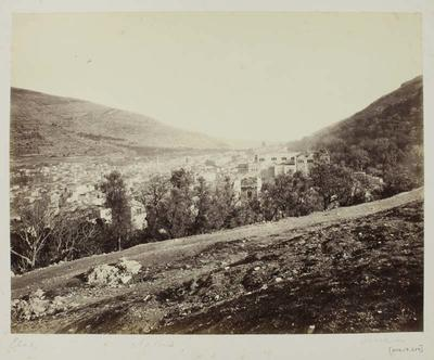 Photograph: Outer Road with Sprawling Town