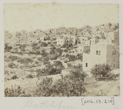 Photograph: View of Bethlehem