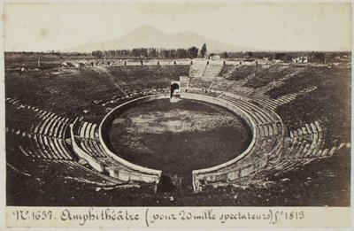 Photograph: Arena, Pompeii