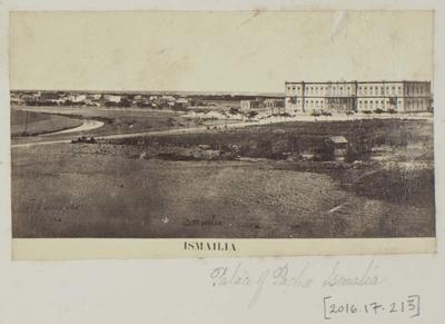 Photograph: Palace of Pacha, Ismailia Egypt