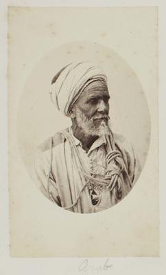 Photograph: Elderly Arab Man