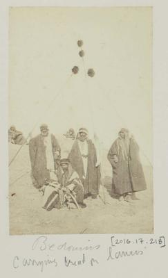 Photograph: Four Bedouin Men