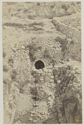 Photograph: Pool in Stone Walls